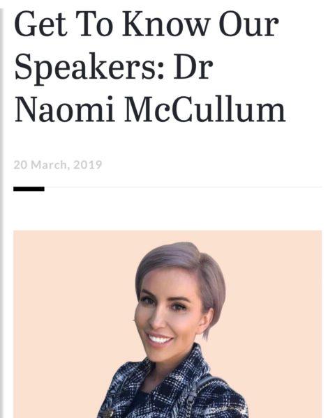 Dr Naomi McCullum