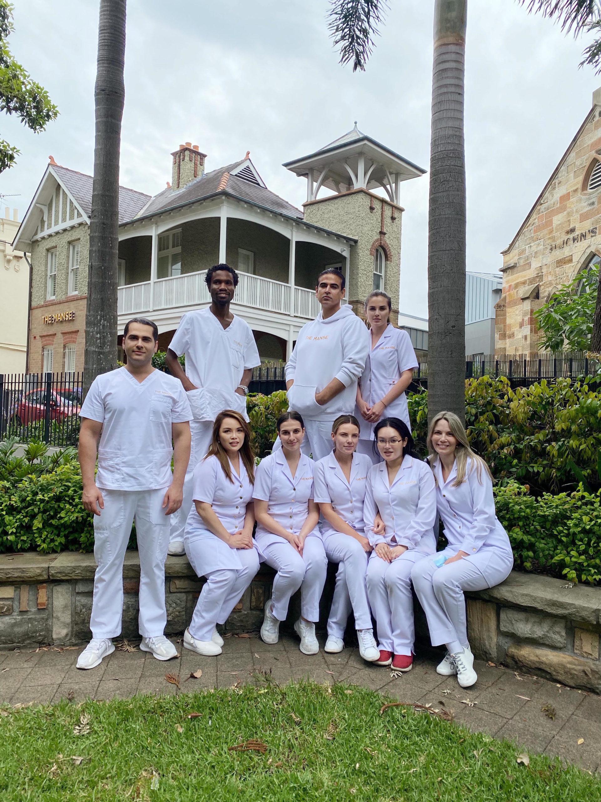 the manse clinic team